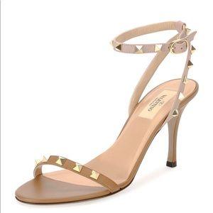 """Valentino Garavani """"rockstud""""naked sandal"""